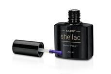 Jolifin LAVENI Shellac - shiny violet 12ml