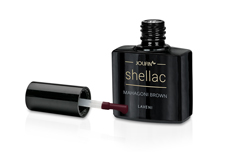 Jolifin LAVENI Shellac - mahagoni brown 12ml