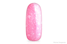 Jolifin LAVENI Shellac - Thermo red-rosy Glitter 12ml