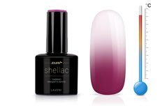 Jolifin LAVENI Shellac - Thermo magenta-white 12ml