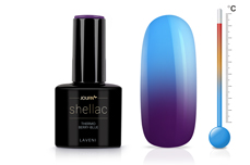 Jolifin LAVENI Shellac - Thermo berry-blue 12ml
