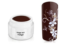 Farbgel rouge noir 5ml