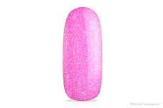 Jolifin LAVENI Shellac - Thermo raspberry-pink sparkle 12ml