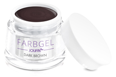 Jolifin Farbgel dark-brown 5ml