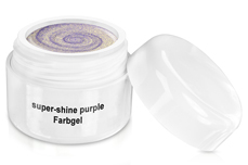 Farbgel super-shine purple 5ml