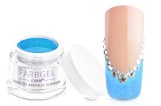 Jolifin Glasgel baby-blue Glimmer 5ml