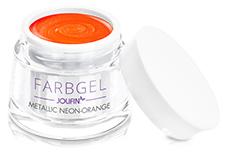 Jolifin Farbgel metallic neon-orange 5ml