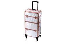 Jolifin Trolley Koffer - white