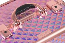Jolifin Mobiler Kosmetik Koffer - rosy hologramm