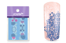 Jolifin Ombre Tattoo - Snowflakes