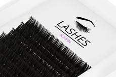 Jolifin Lashes - SingleBox 10mm - 1:1 C-Curl 0,15