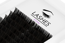 Jolifin Lashes - SingleBox 12mm - 1:1 C-Curl 0,15