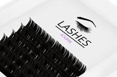 Jolifin Lashes - SingleBox 8mm - 1:1 D-Curl 0,15