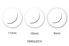 Jolifin Lashes - SingleBox 9mm - 1:1 D-Curl 0,15