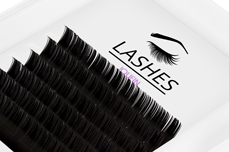 Jolifin Lashes - SingleBox 12mm - 1:1 D-Curl 0,15
