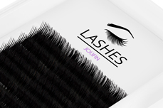 Jolifin Lashes - SingleBox 8mm - Volumen C-Curl 0,05