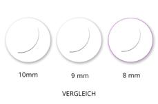 Jolifin Lashes - SingleBox 8mm - Volumen C-Curl 0,05