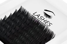 Jolifin Lashes - SingleBox 14mm - Volumen C-Curl 0,05