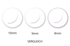 Jolifin Lashes - SingleBox 8mm - Volumen D-Curl 0,05