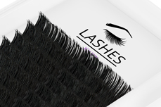 Jolifin Lashes - SingleBox 12mm - Volumen D-Curl 0,05