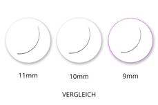 Jolifin Lashes - SingleBox 9mm - Volumen C-Curl 0,07