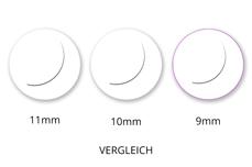 Jolifin Lashes - SingleBox 9mm - Volumen D-Curl 0,07