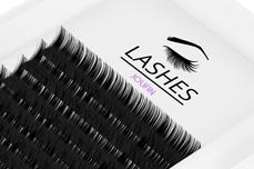 Jolifin Lashes - SingleBox 10mm - Volumen D-Curl 0,07