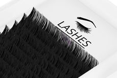 Jolifin Lashes - SingleBox 11mm - Volumen D-Curl 0,07