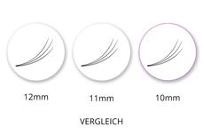 SingleBox 10mm - 3D Wimpernfächer C-Curl 0,07