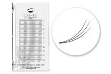 Lashes - SingleBox 12mm - 3D Wimpernfächer C-Curl 0,07