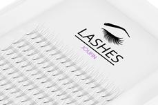 Lashes - SingleBox 12mm - 3D Wimpernfächer C-Curl 0,07