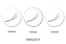 SingleBox 13mm - 3D Wimpernfächer C-Curl 0,07