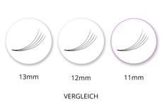 Lashes - SingleBox 11mm - 4D Wimpernfächer C-Curl 0,07