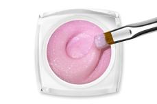 Jolifin LAVENI - Fiberglas-Gel rosé Glimmer 15ml