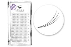 Premium MixBox - 3D Wimpernfächer C-Curl 0,07