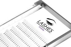 Jolifin Lashes - Premium MixBox - 3D Wimpernfächer C-Curl 0,07