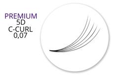 Premium MixBox - 5D Wimpernfächer C-Curl 0,07