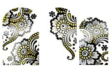 Jolifin Metallic Tattoo Wrap 31