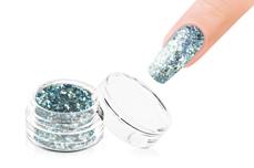 Jolifin LAVENI Glitterpuder Silver Glam - blue