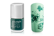 Jolifin Stamping-Lack lagoon turquoise