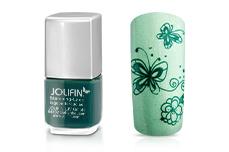 Jolifin Stamping-Lack - lagoon turquoise 12ml