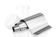 Jolifin Transfer Nagelfolie XL - Chrome silver