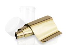 Jolifin Transfer Nagelfolie XL - Chrome gold