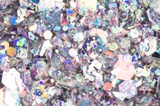 Jolifin Hexagon Glittermix luxury silver