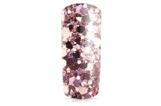 Jolifin Hexagon Glittermix luxury rosé-gold