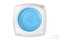 Jolifin LAVENI Farbgel - pastell-azure Glimmer 5ml