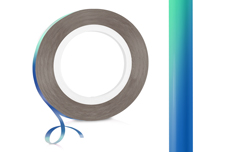 Jolifin Pinstripes FlipFlop türkis & blue - 1mm