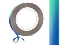 Jolifin Pinstripes FlipFlop türkis & blue - 2mm