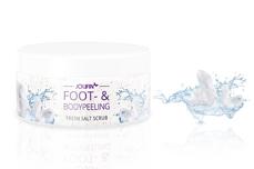 Jolifin Foot- & Bodypeeling - fresh salt scrub 300ml