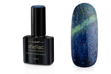 Jolifin LAVENI Shellac - Cat-Eye ocean night 12ml